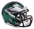 "2018 ""CHROME"" Edition PHILADELPHIA EAGLES NFL Riddell SPEED Mini Football Helmet"