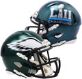 NEW!!! Philadelphia Eagles Super Bowl 52 Champs Mini Speed  Helmet