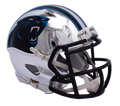"2018 ""CHROME"" CAROLINA PANTHERS FULL SIZE SPEED REPLICA HELMET"