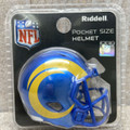 2020 LOS ANGELES RAMS  NFL Speed Pocket Pro Helmet