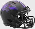 BALTIMORE RAVENS 2020 ( BLACK ECLIPSE ) - NFL Riddell SPEED Mini Football Helmet