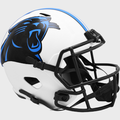 CAROLINA PANTHERS 2021 ( LUNAR ECLIPSE ) - NFL Riddell SPEED Mini Football Helmet
