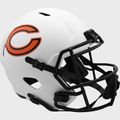CHICAGO BEARS 2021 (LUNAR ECLIPSE) Riddell Full Size Speed Replica Helmet