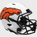 DENVER BRONCOS 2021 (LUNAR ECLIPSE) Riddell Full Size Speed Replica Helmet