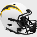 LOS ANGELES CHARGERS 2021 (LUNAR ECLIPSE) Riddell Full Size Speed Replica Helmet