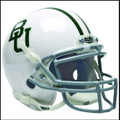 Baylor Bears Schutt Mini Authentic Helmet White