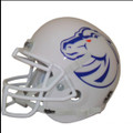 Boise St. Broncos New White Mini Authentic Shutt Helmet