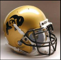 Colorado Buffaloes Full Size Replica Schutt Helmet