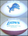 Detroit Lions Full Size Logo Football