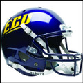 East Carolina Pirates Full XP Replica Football Helmet Schutt