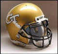 Georgia Tech Yellow Jackets Full Size Replica Schutt Helmet