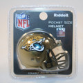 Jacksonville Jaguars NFL Pocket Pro Single Football Helmet