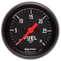 Autometer Z-Series 0-30PSI Fuel Pressure Gauge
