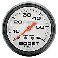 Autometer Phantom 0-60PSI Boost Gauge