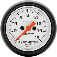 Autometer Phantom 0-1600 Pyrometer Gauge Kit