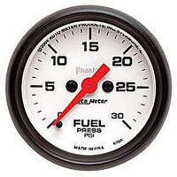 Autometer Phantom 0-30PSI Fuel Pressure Gauge Kit