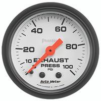 Autometer Phantom Drive Pressure Gauge