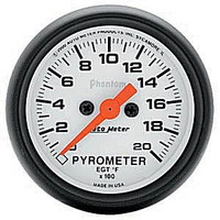 Autometer Phantom 0-2000 Pyrometer Gauge