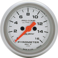Autometer Ultra-Light 0-1600 Pyrometer