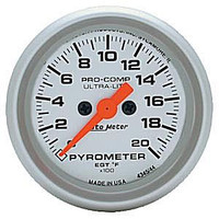 Autometer Ultra-Light 0-2000 Pyrometer
