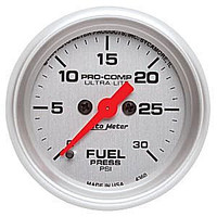 Autometer Ultra-Light 0-30PSI Fuel Pressure Gauge