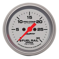 Autometer Ultra-Light 0-30K Rail Pressure Gauge