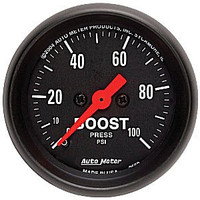 Autometer Z-Series 0-100PSI Boost Gauge