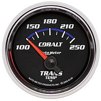 Autometer Cobalt Short Sweep Transmission Temperature Gauge