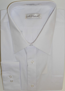 Men's Classic Dress Shirt - White