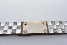 Plaque Rhinestone Belt