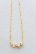Eternity Necklace in Gold