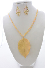 The Real Fallen Leaf Set in Gold
