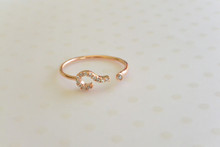 The Question Mark Ring in Rose Gold