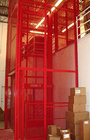 Pflow Series D - Material Lift