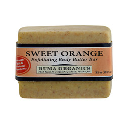 Sweet Orange Exfoliating Body Butter Bar