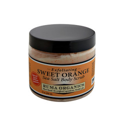 Sweet Orange Exfoliating Sea Salt Body Scrub