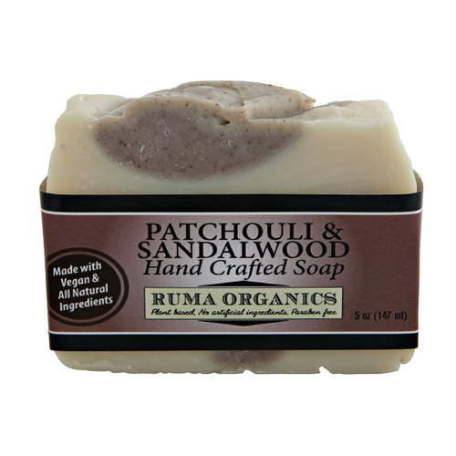 Patchouli and Sandalwood Hand Crafted Soap