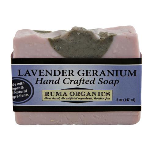 Lavender Geranium Hand Crafted Soap