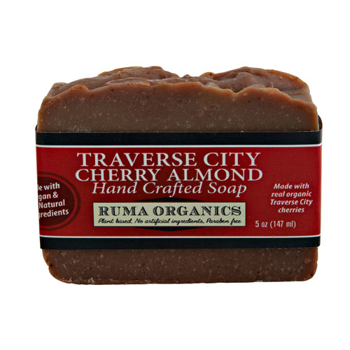 Traverse City Cherry Almond Hand Crafted Soap