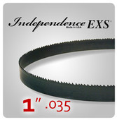 "1"" .035 - Independence EXS Bi-Metal Band Saw Blades"