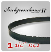 "1 1/4"" .042 - Independence II Band Saw Blades"