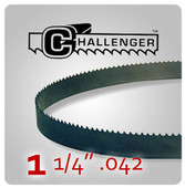 "1 1/4"" .042 - Challenger Structural Bi-Metal Band Saw Blades"