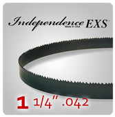"1 1/4"" .042 - Independence EXS Bi-Metal Band Saw Blades"