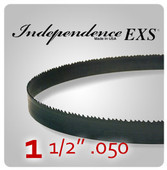"1 1/2"" .050 - Independence EXS Bi-Metal Band Saw Blades"