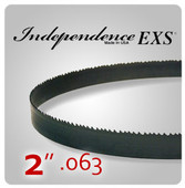 "2"" .063 - Independence EXS Bi-Metal Band Saw Blades"