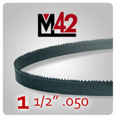 "1 1/2"" .050 - M42 Bi-Metal Band Saw Blade"
