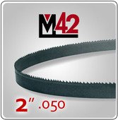 "2"" .050 - M42 Bi-Metal Band Saw Blade"
