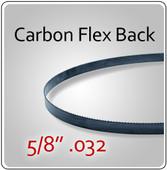 """5/8"""" .032 Flex Back (HEF) Carbon Blades"""
