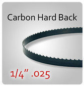 "1/4"" .025 - Hard Back (HB) Carbon Blades"