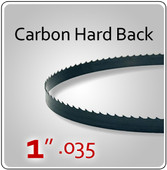 "1"" .035 Hard Back (HB) Carbon Blades"